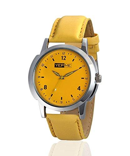 Yepme Aphix Men's Watch - Yellow -- YPMWATCH1291 image