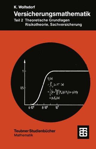Versicherungsmathematik, Tl.2, Theoretische Grundlagen, Risikotheorie, Sachversicherung (Teubner Studienbücher Mathematik)