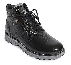 Bacca Bucci Mens Black Boots - 6 UK, BBMA2132A