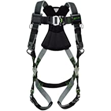 Miller RDT-QC-BDP/S/MBK Revolution Harness with DualTech Webbing, Removable Belt, Side D-Rings and Pad and Quick-Connect Buckle Legs, Black, Small/Medium by Miller