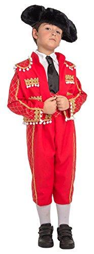 Imagen de my other me  disfraz de torero para niño, 3 4 años viving costumes 203806