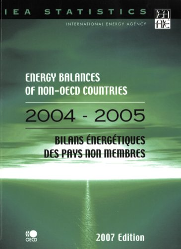 Energy Balances of Non-oecd Countries 2004/2005