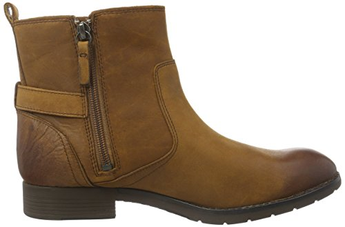 Sebago Nashoba Low Boot Wp, Stivaletti Donna Marrone (Brown Leather WP)