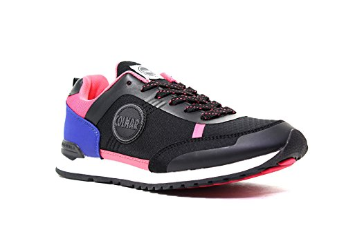 Colmar Sneakers Donna H 118 AW16 TRAVIS GUPH NOIR FUCHSIA INDIGO nouvelle collection automne hiver 2016 2017