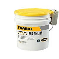 Frabill Ice MIN-O2-LIFE Aerated Bucket, 4.25-Gallon