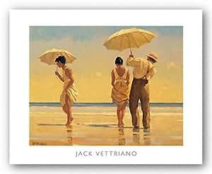 Jack Vettriano – Les excentriques Impression d'art Print (49,53 x 40,01 cm)