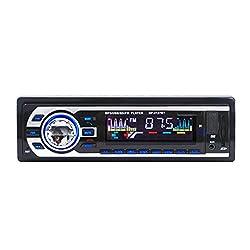 Generic AUX USB CD Player Bluetooth Handfree Car Radio Hifi Speaker Set FM Transmitter