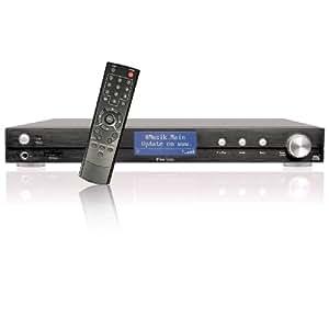 DNT IPdio Tune Internet-Radio (Sintonizzatore FM, W-LAN, Slot per schede di memoria SD, USB 2.0), colori: Nero
