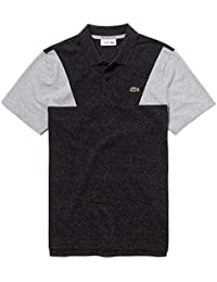 70213a41bf Lacoste Men's Sport Contrast Sleeves Ultra Light Cotton Polo Shirt