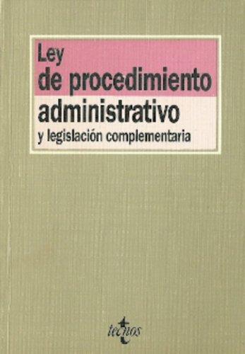 Ley de procedimiento administrativo por Rafael Fernandez Montalvo