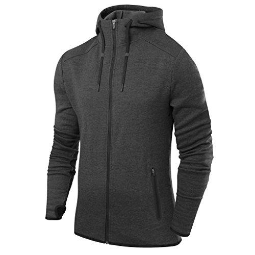 TCA Revolution Herren Trainingsjacke mit Kapuze und reißverschlusstaschen Test