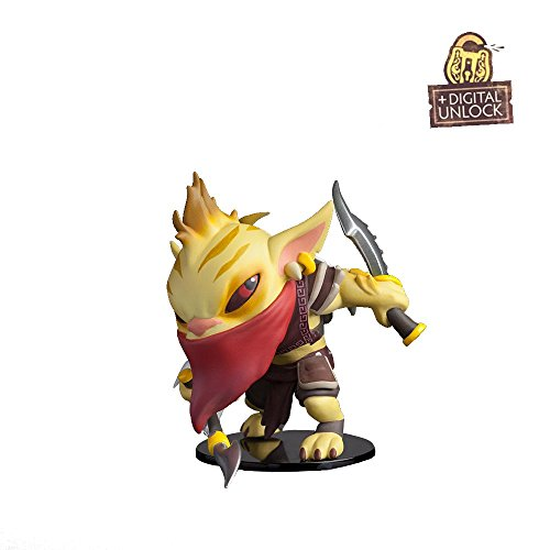 Dota-2-Demihero-Bounty-Hunter-Mini-Hero-Figur-Valve-In-Gamne-Unlock-Key