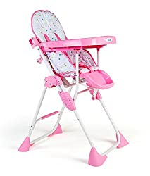 LuvLap Baby Comfy High Chair (Pink)