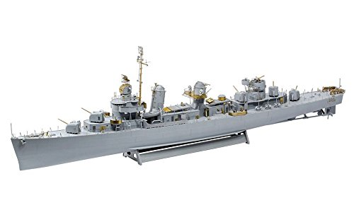 Revell 05150–modellino di nave 1: 144–fletcher class destroyer platinum edition in scala 1: 144, level 5, orgin nachbildung ricche di alghe con molti dettagli, adesivi, limited edition di