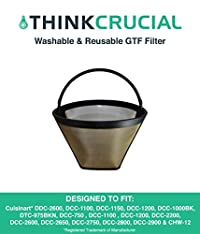 Gold Tone Washable Coffee Filter
