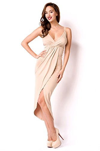 luxury and good Dessous Damen Kleid Camel