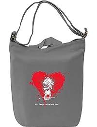 Zombie Valentines Final Bolsa de mano D'a Canvas Day Bag| 100% Premium Cotton Canvas Fashion