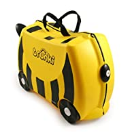 Trunkie Bernard the Bee Yellow & Black Ride/Pull On Suitcase - 0044