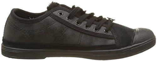 Le Temps des Cerises Damen Basic 02 Sneaker Schwarz - Noir (Fur Black)