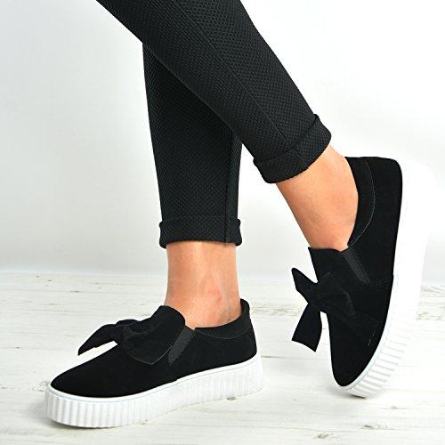 Cucu Fashion, Sandalo Senza Cuciture Da Donna Nero