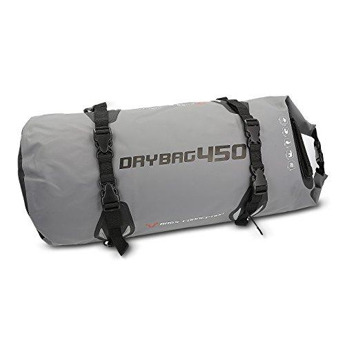 Preisvergleich Produktbild Hecktasche Aprilia Sportcity Cube 300 SW Motech Drybag 450 Anthrazit / Schwarz,  45 Liter,  Wasserdicht