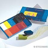 Stockmar Wachsmalblöcke - 12 Farben im Kartontui