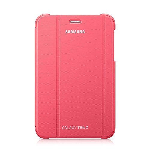 Samsung Original Diarytasche (Flipcover) im Buchdesign EFC-1G5SPECSTD (kompatibel mit Galaxy Tab 2 7.0) in berry - Tablet 2012 Samsung