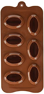 BargainRollBack Coffee Bean Shape Ice Cube, Chocolate Fondant Soap Tray, Mold, Silicone Party Maker by OTC