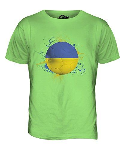 CandyMix Ukraine Fußball Herren T Shirt Limettengrün