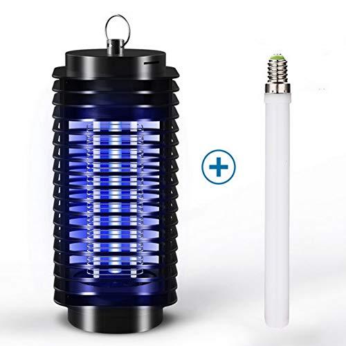 TSLCQ Elektrische Moskito-Fliegen-Wanze Insekten-Zapper-Mörder-Fallen-Fänger-Lampe -