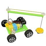 juler STEM Toys DIY elektrischer Kehrroboter Grundschule manuelle Technologie kleine Produktion kreative Erfindung wissenschaftliches experimentelles Spielzeug,Weiß,Einheitsgröße