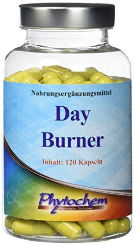 Phytochem DAY BURNER effektiver Fatburner für die Einnahme am Tag, 120 Kapseln (Tee Am Abnehmen Bauch Fett)