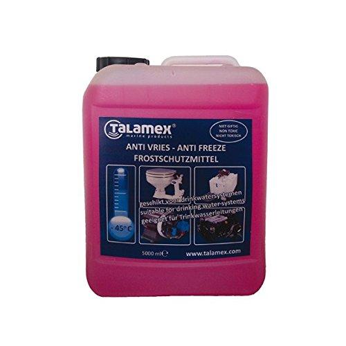 Talamex Frostschutzmittel Gefrierschutz für Trinkwassersysteme, Kühlwassersysteme und Motorensysteme auf Booten - 5l ( 4,58 € pro Liter )
