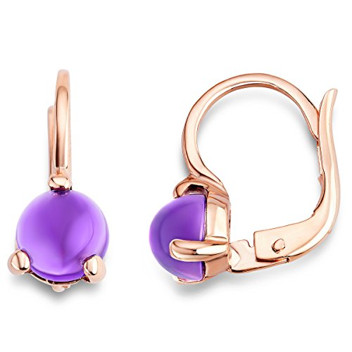 miore-ladies-9-ct-rose-gold-amethyst-3-prong-earrings