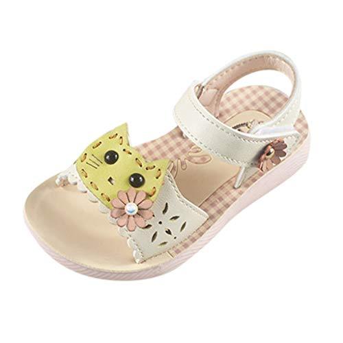 nder Katze Cartoon Perle Prinzessin Schuhe, atmungsaktiv Jungen Mädchen geschlossen Sandalen Kinder Sommer Outdoor Rutschfeste Neugeborene Hausschuhe Mode Strand Leichte ()