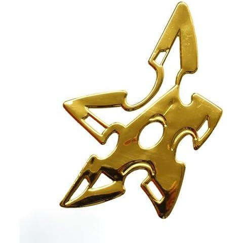 Adhesivos Oro Cromo 3d Emblema Ninja Estrella Auto Moto DZ de 32G