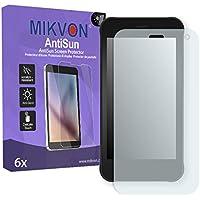 4x Mikvon Clear Screen Protector for Garmin DriveAssist 51 LMT Retail Package