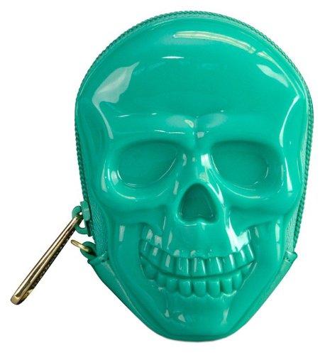 loungefly-geldborse-3d-skull-coin-purse-grun-one-size