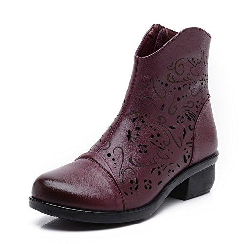 Creux les dames et les bottes froid/Maman chic et chaussures de fond mou/Anciennes sandales de l'été B