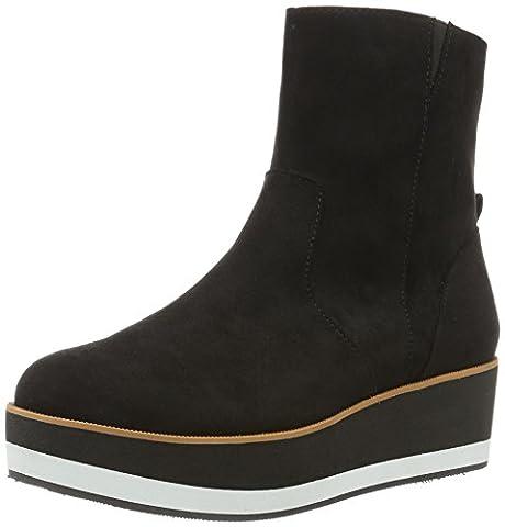 Bullboxer Damen Ankle Boot Stiefel, Schwarz (Black), 36 EU
