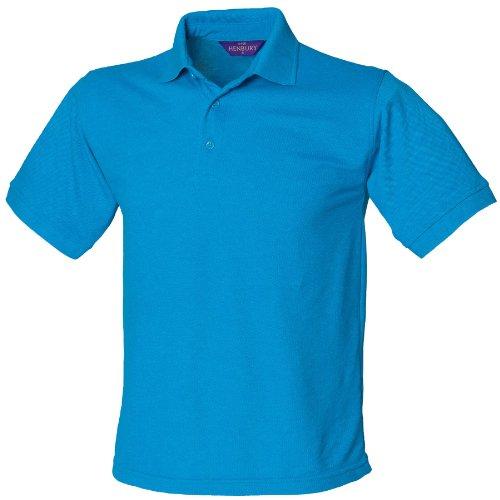 Henbury 65/35-polo zaffiro blu