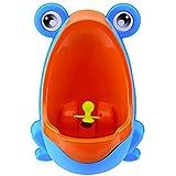 Urinario de bebe - SODIAL(R)Orinal de rana lindo Urinario de formacion para chicos (Azul)