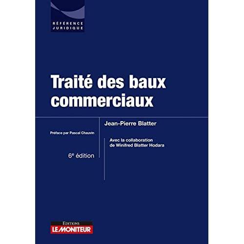 Traité des baux commerciaux
