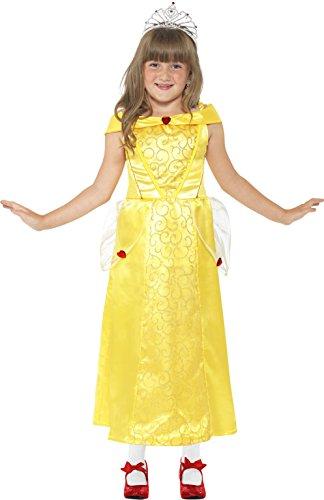 Smiffys Kinder Belle Beauty Kostüm, Kleid, Größe: M, 44027