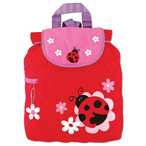 Stephen Joseph Children's Quilted Backpacks Kinder-Rucksack, 33 cm, 2 liters, Rot (Red) -