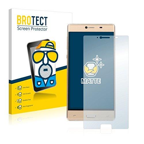 2X BROTECT Matt Bildschirmschutz Schutzfolie für Elephone M2 (matt - entspiegelt, Kratzfest, schmutzabweisend)