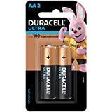 Duracell Ultra Alkaline AA Batteries (Pack of 2)
