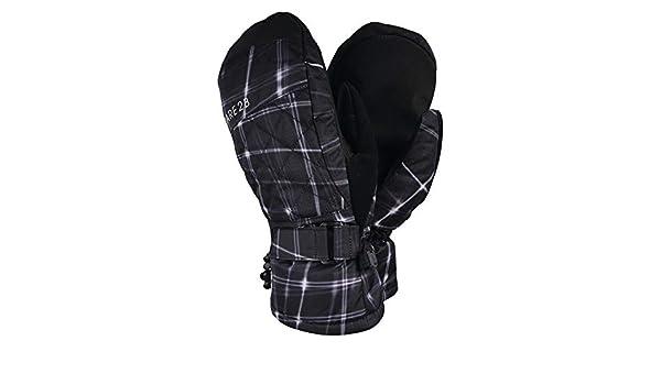 Respirantes et Isolantes avec Paume et Pouce Textur/és et Agrippants Gloves Dare 2b Mitaines//Moufles de Ski Femme Dignity Imperm/éables