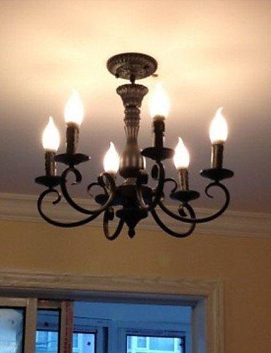 Candle Design Leuchter, 6 Licht, Klassische Malerei Metallbearbeitung
