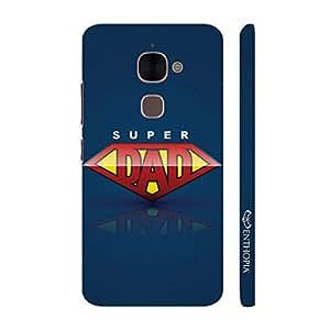 Enthopia Designer Hardshell Case Super Dad Back Cover for LeTv Le Eco 2 Pro